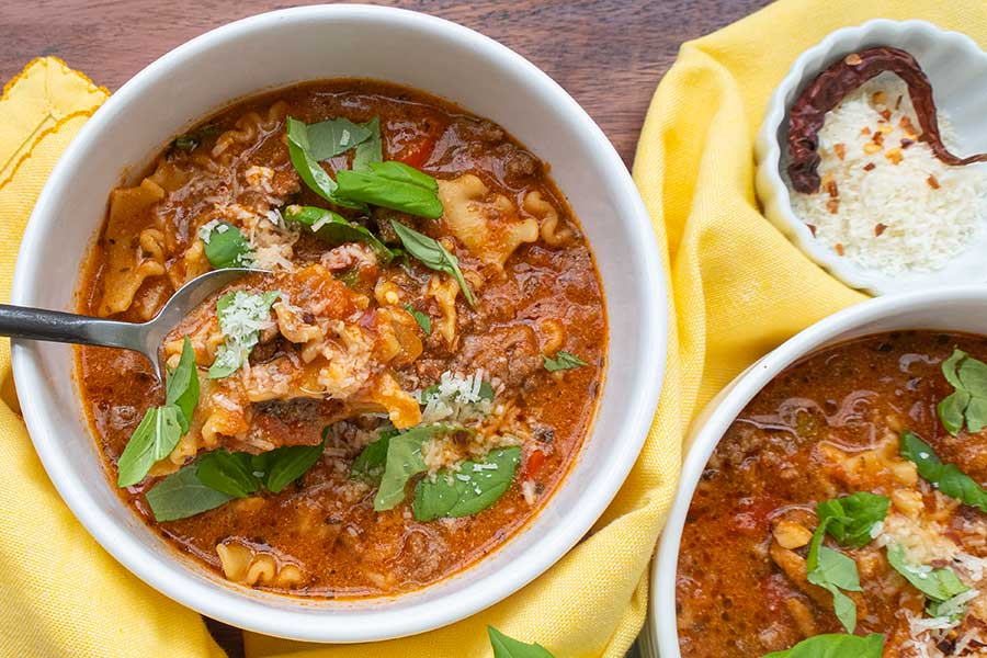 best gluten free lasagna soup