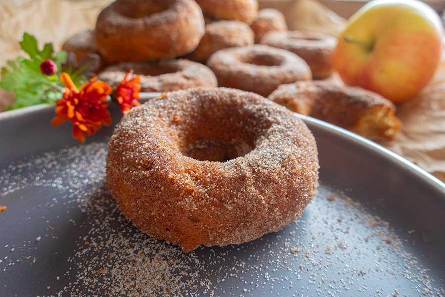 apple cider donuts, gluten free