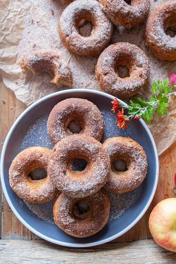 gluten-free apple cider donuts