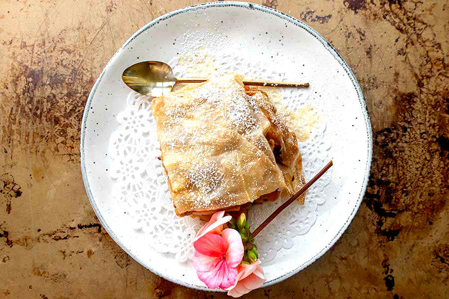 gluten free apple strudel