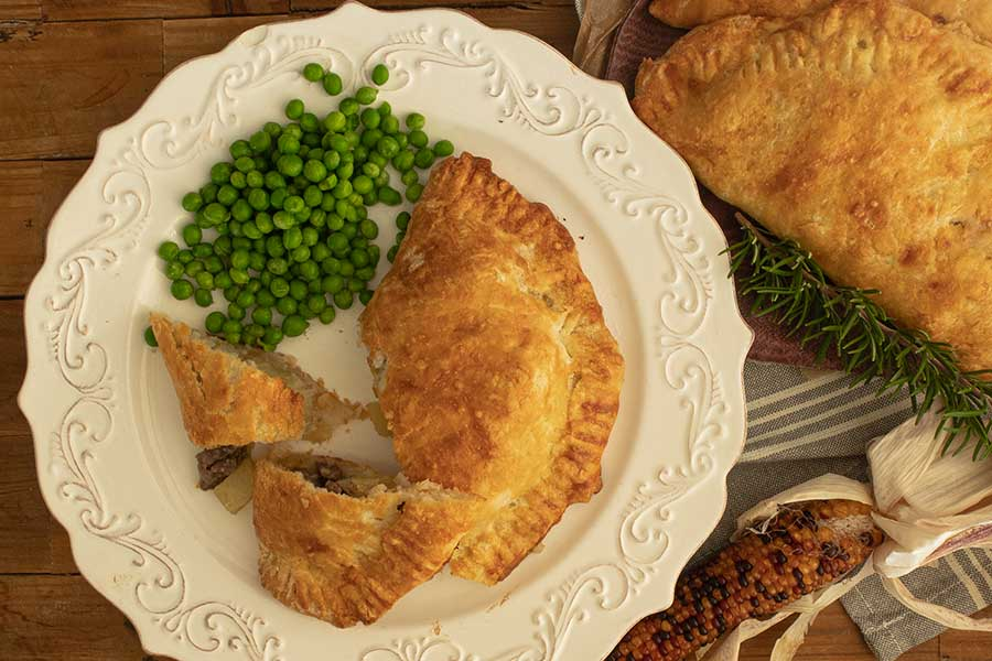 gluten free Cornish pasty