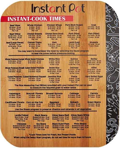instant pot cutting board