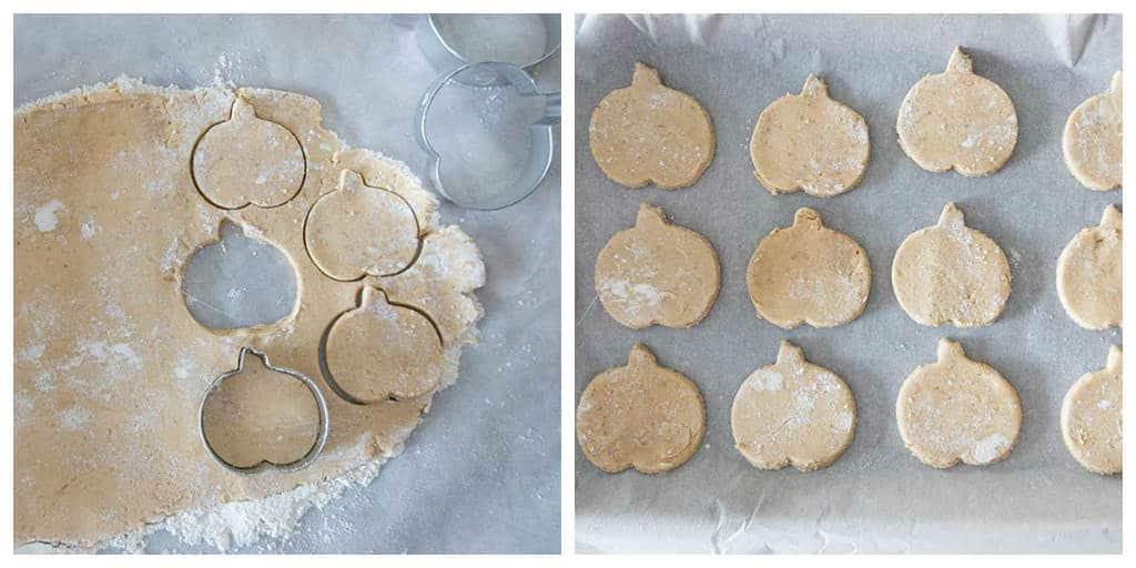 shortbread maple cookies