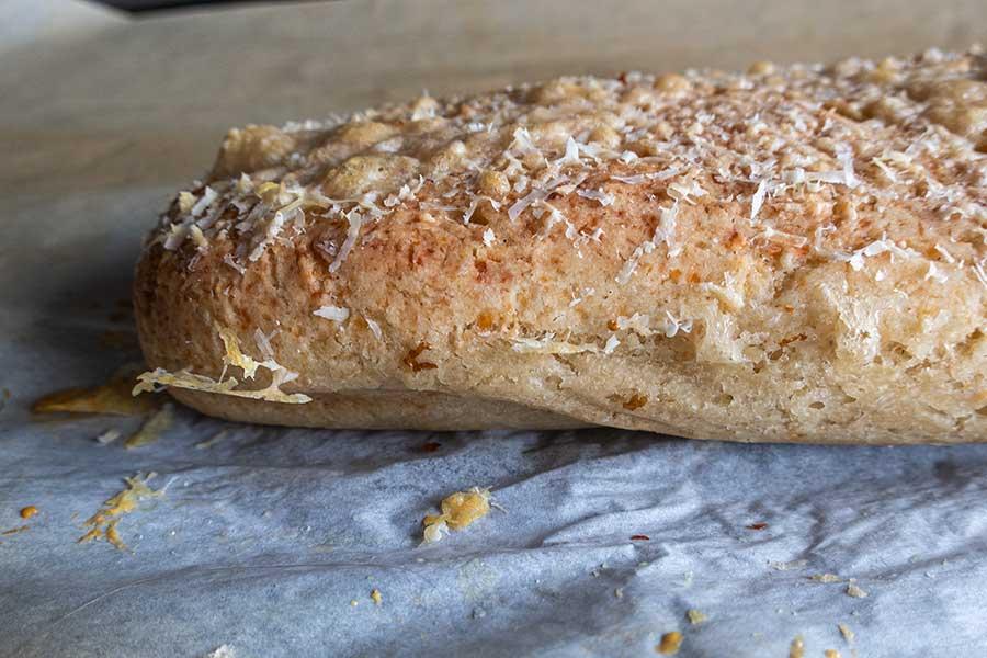 gluten-free Italian Parmesan Bread