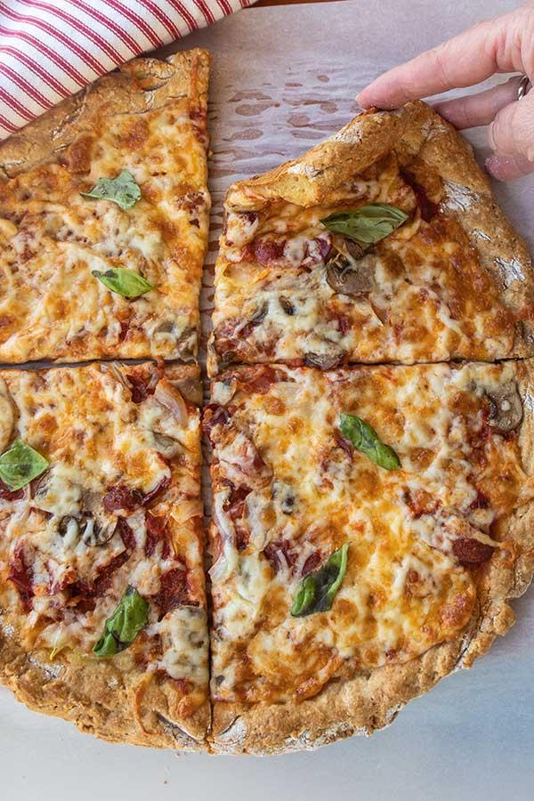 New York-Style Gluten-Free Pizza