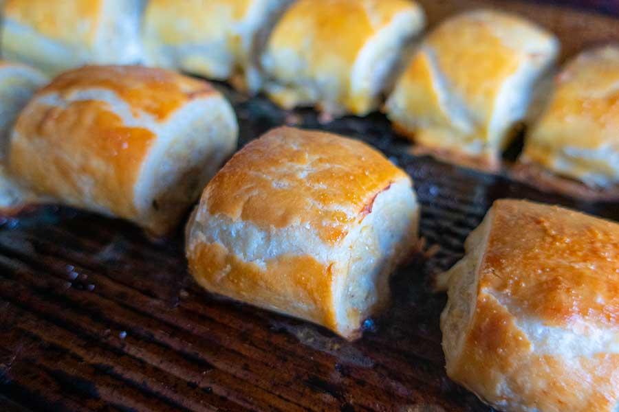 sausage rolls, gluten free