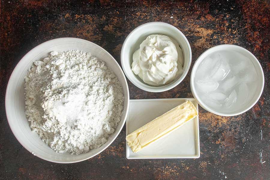 gluten free short crust ingredients