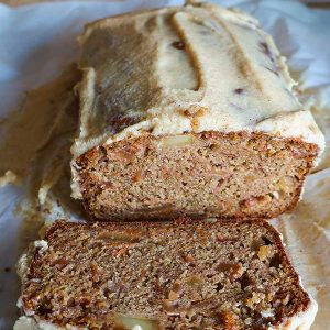 Gluten-Free Carrot Apple Loaf