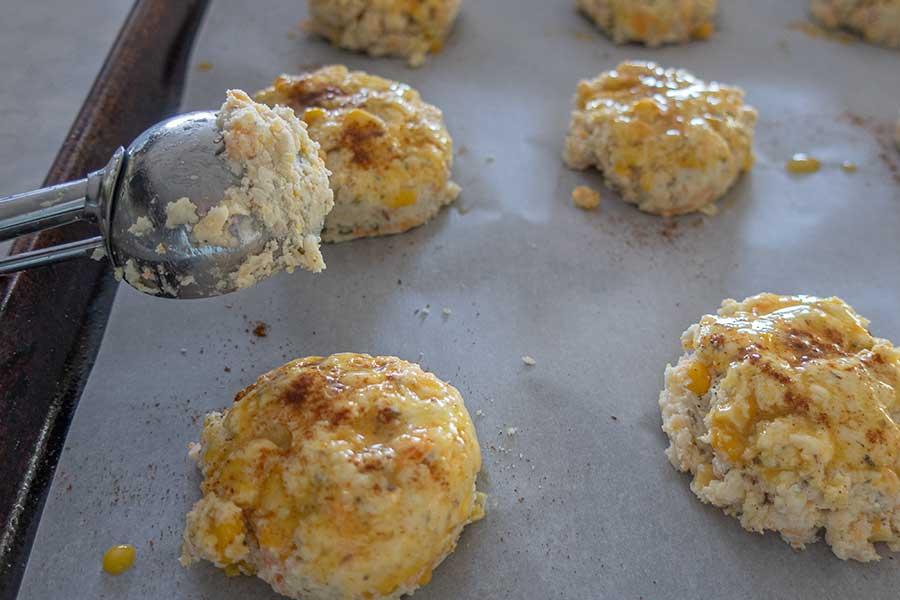 savoury biscuits, gluten-free