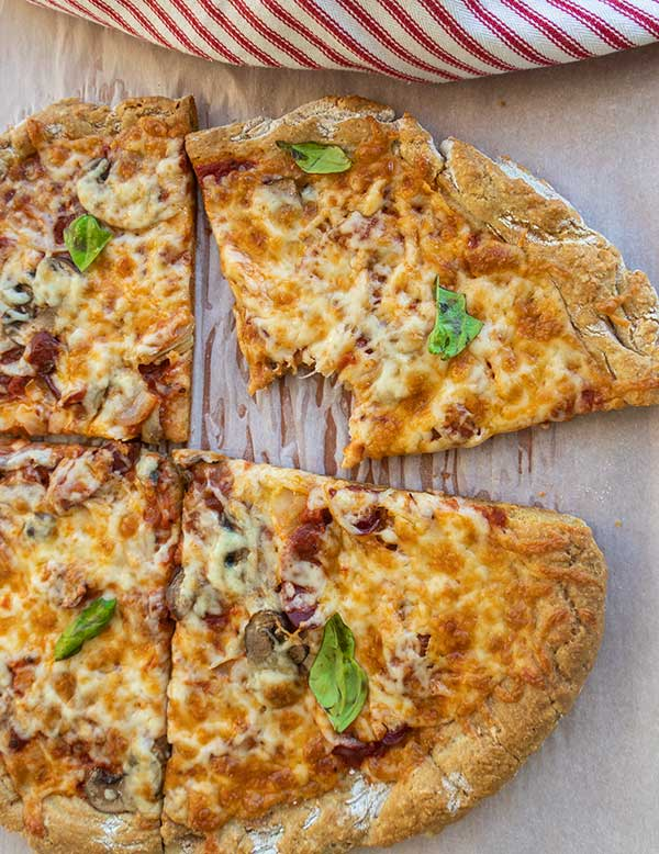 pizza crust, gluten free