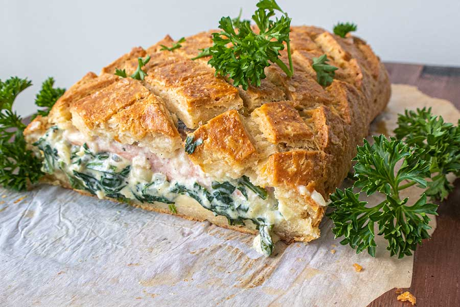 salmon wellington, gluten-free