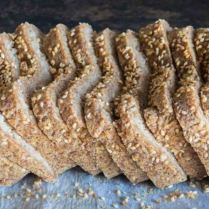 Vegan Low Carb Bread – Grain Free