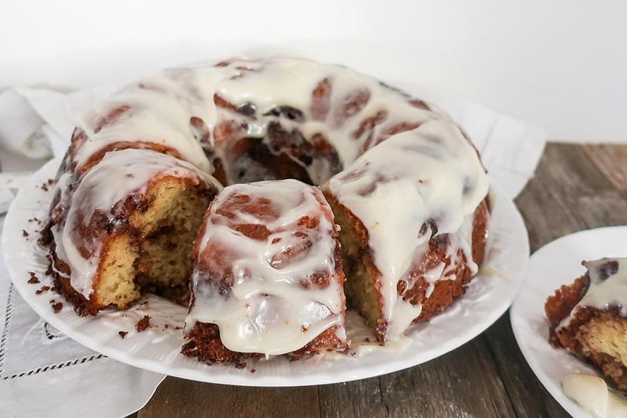 gluten free breakfast cake