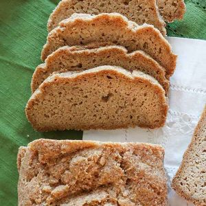 Gluten-Free High Fiber Bread Recipe