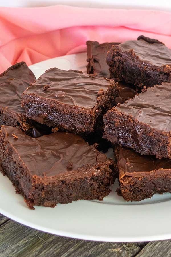 Gluten-Free Milk Chocolate Truffle Brownies