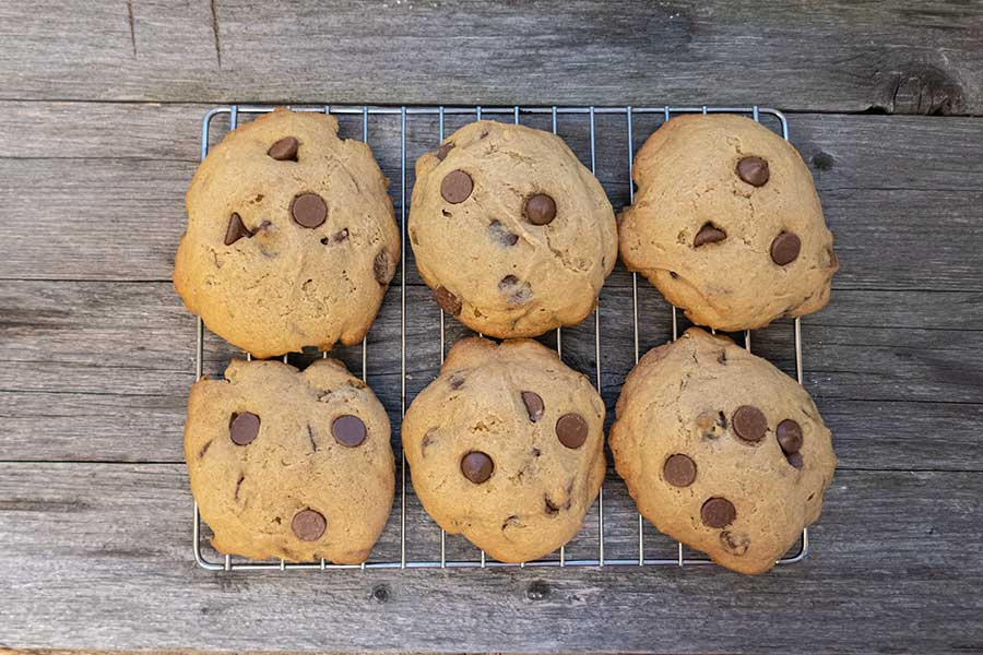 cassava chocolate chip cookies