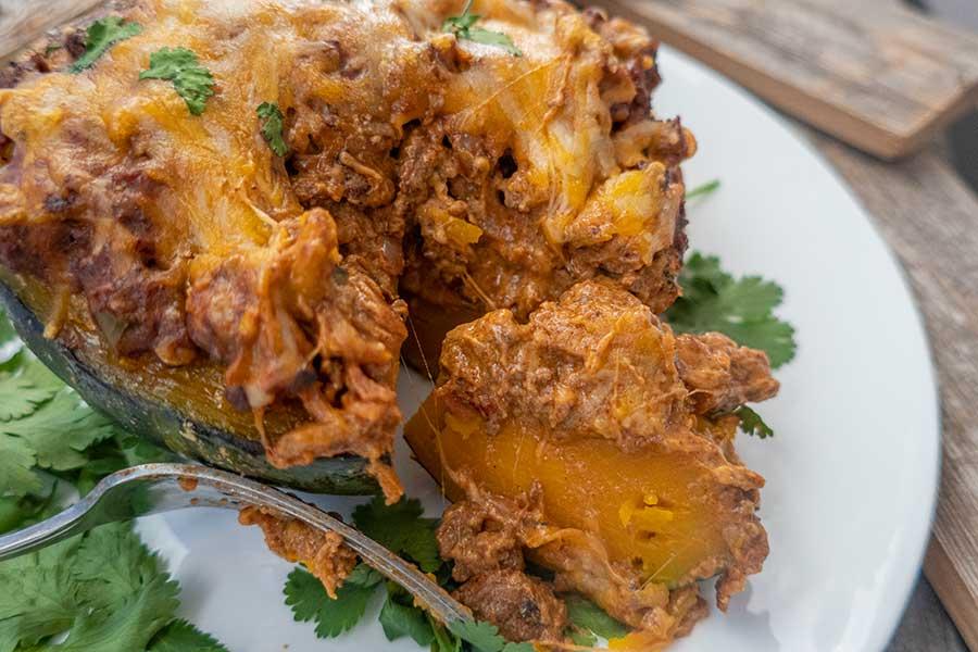 taco stuffed kabocha