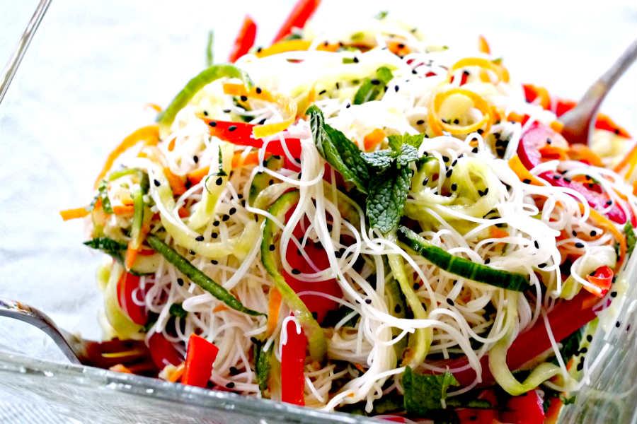 gluten-free noodle salad