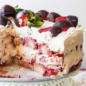 Gluten-Free Strawberry Tiramisu