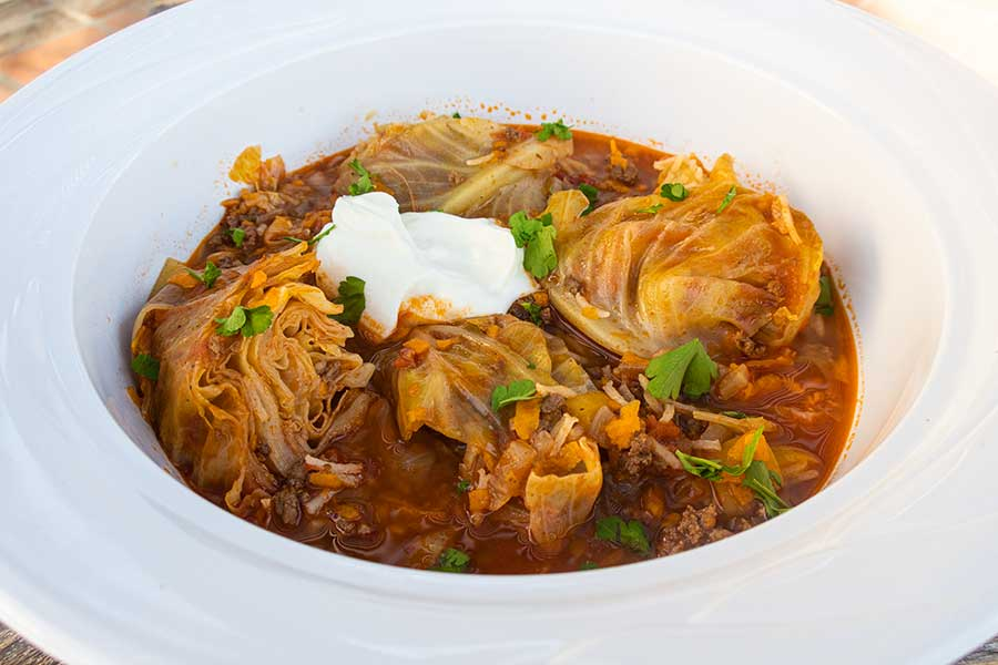 cabbage roll soup, gluten free