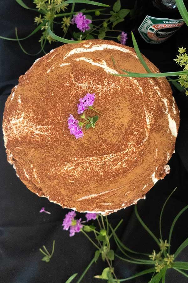 Irish cream tiramisu cake, gluten free