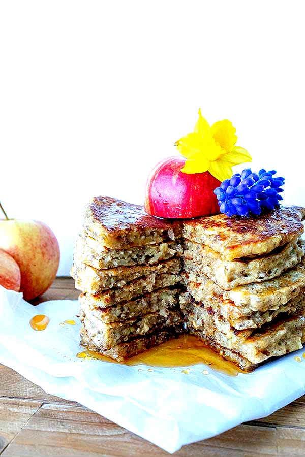 gluten-free vegan pancakes