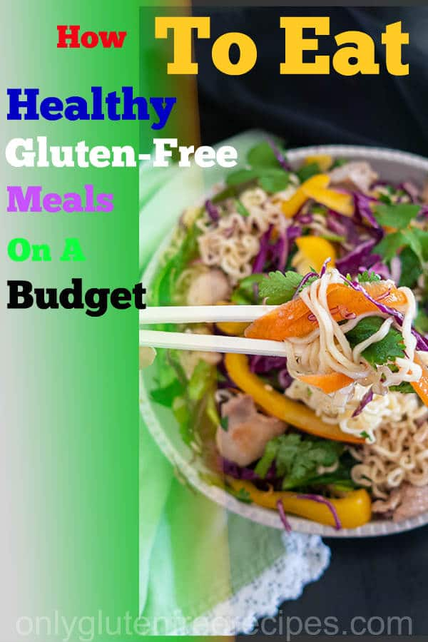 gluten free meals on a budget