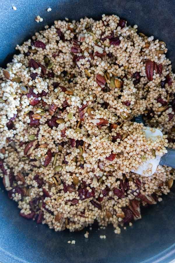 puffed rice energy bar, gluten-free