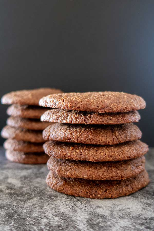 chocolate wafers, gluten-free