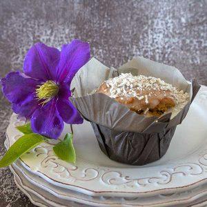 Gluten-Free Coconut Lemon Muffins