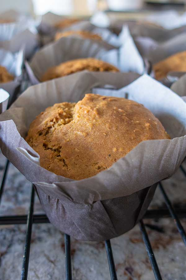 dairy free lemon muffin