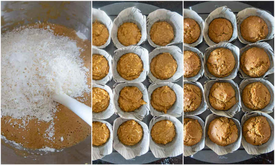gluten free muffin batter