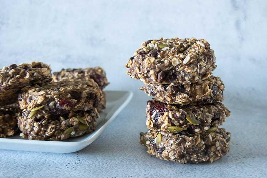 heealthy breakfast cookie, gluten-free