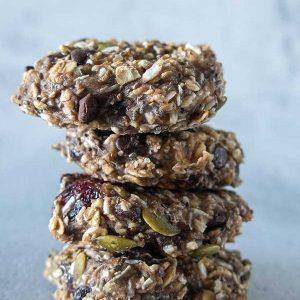 Gluten-Free Healthy Morning Cookie – Vegan