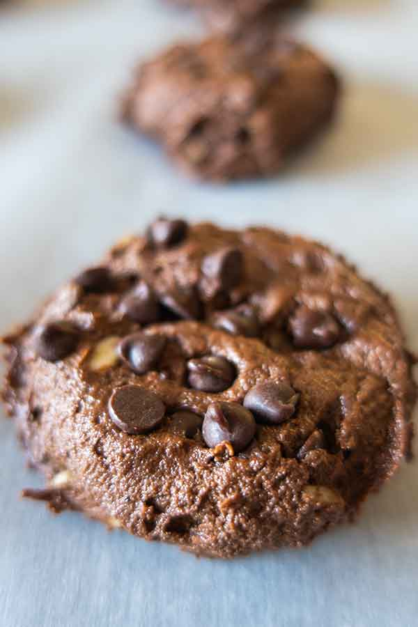 raw gluten-free chocolate cookie