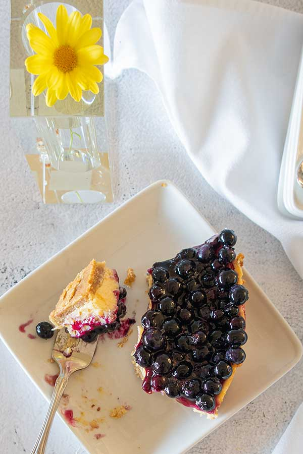 blueberry key lime cake, gluten free