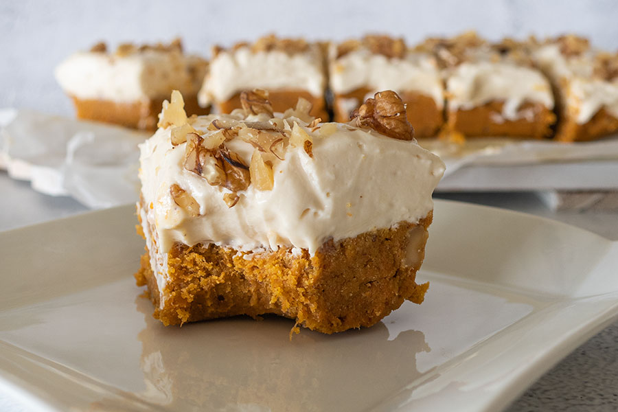 Gluten-Free No Bake Carrot Cake