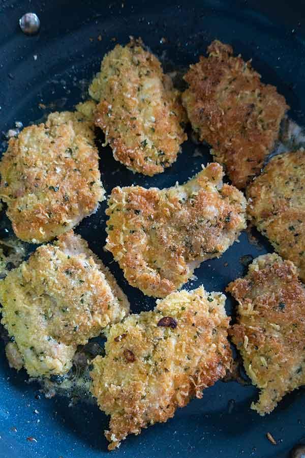 parmesan crusted chicken, gluten free