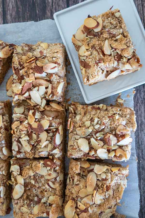apple pie bars, gluten-free