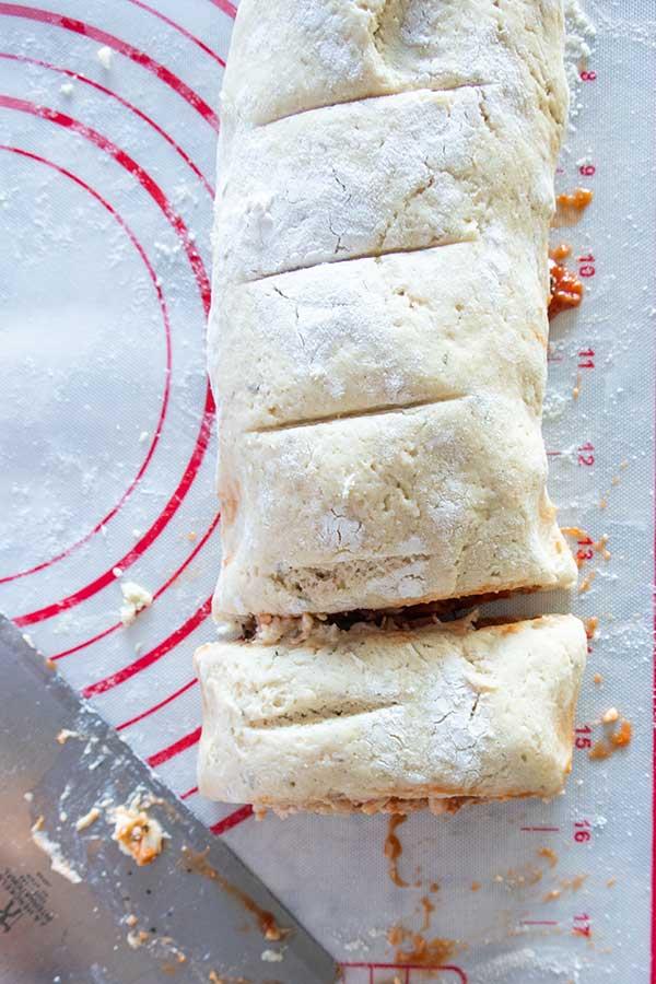 stuffed pizza roll dough